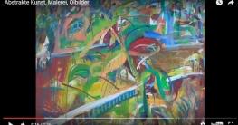 Abstrakte Malerei (Video)