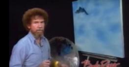 Bob Ross: einen Berg malen