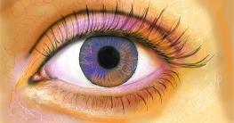 Realistisches Auge malen