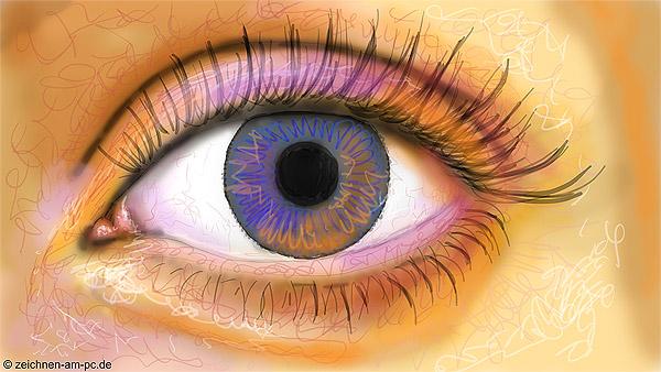 Ein Realistisches Auge Malen