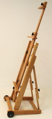 Atelier-Staffelei 131, BUCHENHOLZ, Höhe bis 230 cm, vormontiert - kein Bausatz ! - 2