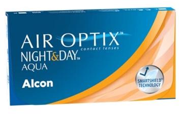 Air Optix Night & Day Aqua Monatslinsen weich, 6 Stück / BC 8.6 mm / DIA 13.8 / -3 Dioptrien - 2