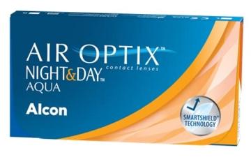 Air Optix Night & Day Aqua Monatslinsen weich, 6 Stück / BC 8.6 mm / DIA 13.8 / -3 Dioptrien - 3