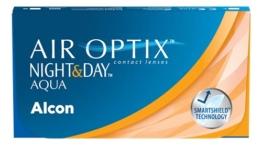 Air Optix Night & Day Aqua Monatslinsen weich, 6 Stück / BC 8.6 mm / DIA 13.8 / -3 Dioptrien - 1