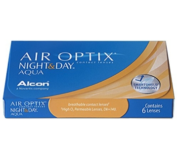 Air Optix Night & Day Aqua Monatslinsen weich, 6 Stück / BC 8.6 mm / DIA 13.8 / -3 Dioptrien - 4
