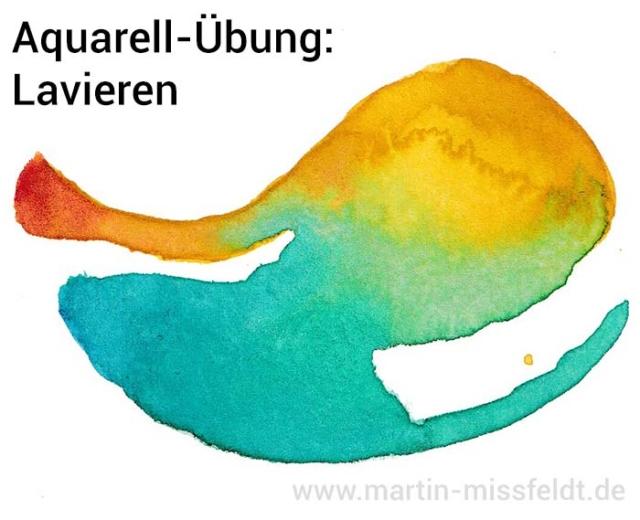 Lavieren (Aquarell-Tutorial)