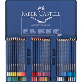 Art Grip Aquarellstifte Box mit 60 Stiften -