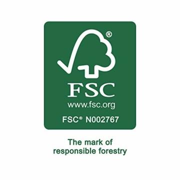 Artina Akademie Keilrahmen FSC®-Zertifiziert 10er Set 5 x 40x50 cm & 5 x 30x40 cm- Aus 100% Baumwolle Leinwand Keilrahmen weiß - 280g/m² - verzugsfrei - 7