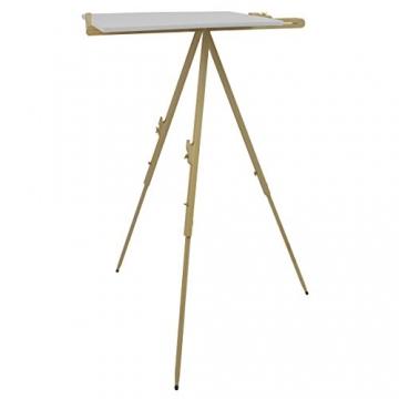 Artina® Feld-Staffelei Malaga aus Massiv-Holz: tragbare, leichte Staffelei & äußerst stabil. Perfekt als Künstler-Bedarf - 4