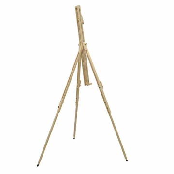 Artina Feld-Staffelei Malaga aus Massiv-Holz: tragbare, leichte Staffelei & äußerst stabil. Perfekt als Künstler-Bedarf - 3