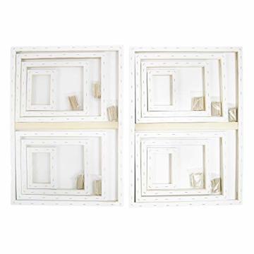 Artina FSC® Keilrahmen 14er Set Akademie - 50x70, 30x40 cm, 24x30, 13x18 cm Leinwand Set - 100% Baumwolle 280g/m² - 3