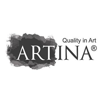 Artina FSC Keilrahmen Akademie 20x30 cm 5er Set - Aus 100% Baumwolle Leinwand Keilrahmen weiß - 280g/m² - verzugsfrei - 9