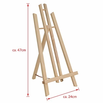 Artina Tisch-Staffelei London aus Kiefern-Holz ideal zum Malen am Tisch für Künstler und Kinder geeignet - 3