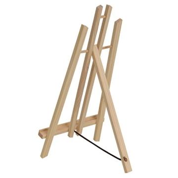Artina Tisch-Staffelei London aus Kiefern-Holz ideal zum Malen am Tisch für Künstler und Kinder geeignet - 4