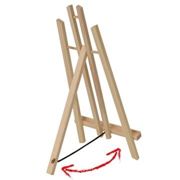 Artina Tisch-Staffelei London aus Kiefern-Holz ideal zum Malen am Tisch für Künstler und Kinder geeignet - 5