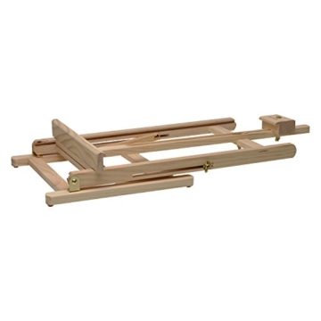 Artina Tischstaffelei Sydney - Leinwand Staffelei aus Holz - Sitzstaffelei 27 x 27 x 60 cm für alle Maltechniken geeignet - 6