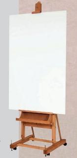Atelierstaffelei M/06 mit Leinwand zum Malen
