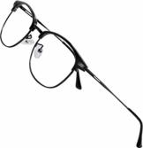 ATTCL Unisex blaulichtfilter brille computerbrille zum Blockieren von UV-Kopfschmerz [Verringerung der Augenbelastung] Gaming Brille,(Herren/Damen) 5054 Black-ALL - 1