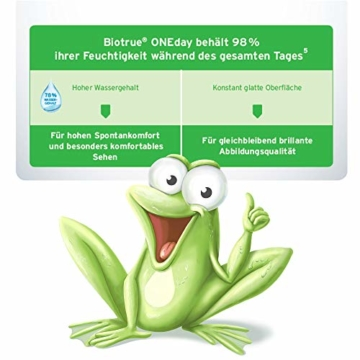 Bausch und Lomb Biotrue ONEday for Presbyopia Tageslinsen, Gleitsicht-Kontaktlinsen, weich, 30 Stück -02.50 Dpt, DIA 14,2 mm, BC 8,60, Add Low - 7
