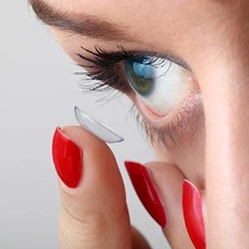 Bausch und Lomb Purevision Multifocal Monatslinsen, Gleitsicht-Kontaktlinsen, weich, 6 Stück BC 8.6 mm / DIA 14 / -5 Dioptrien / ADD High - 5