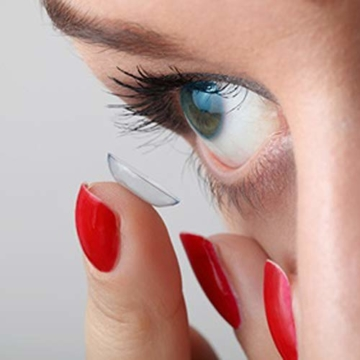 Bausch und Lomb SofLens 59 Monatslinsen, sphärische Kontaktlinsen, weich, 6 Stück BC 8.6 mm / DIA 14.2 / -2.25 Dioptrien - 6