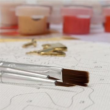 Bluelover Lgel Digitale Ölgemälde DIY Öl Malen Nach Zahlen-Kits Rahmenlose Leinwand WandDekor Geschenk 40x50cm -