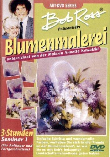 Bob Ross - Blumenmalerei -