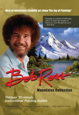Bob Ross DVD. Mountains Collection. 390 Minutes. -