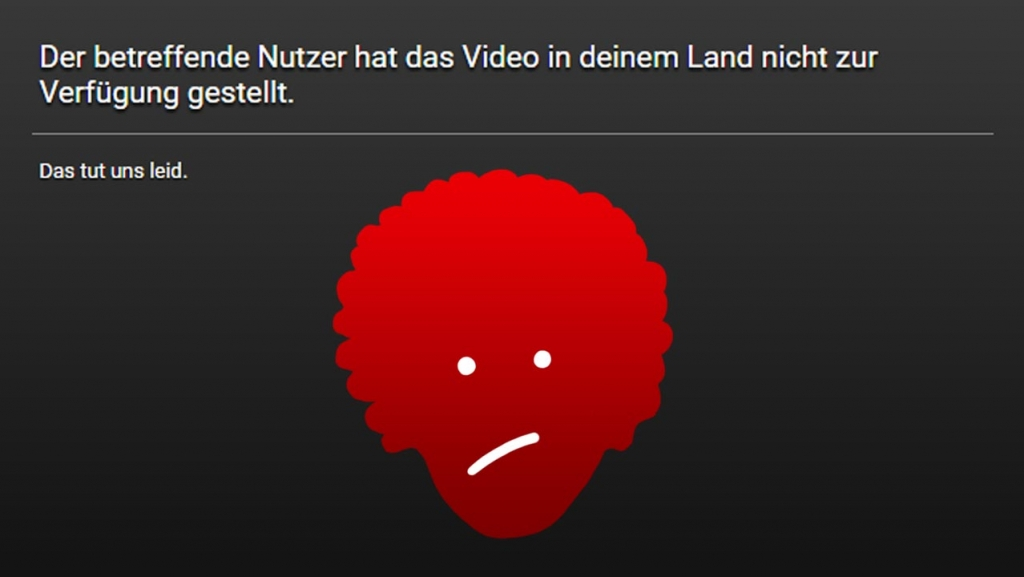 Bob Ross Videos bei youtube gesperrt