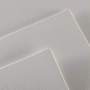 Canson 200006544 Montval Aquarellpapier, 24 x 32 cm, naturweiß - 2