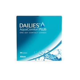 DAILIES AquaComfort Plus 1-Tages-Kontaktlinsen, 90 Stück, BC 8.7 mm, DIA 14.0 mm, -2 Dioptrien - 1