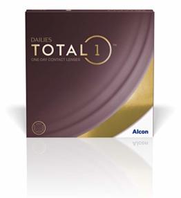 Dailies Total 1 Tageslinsen weich, 90 Stück / BC 8.5 mm / DIA 14.1 mm / -2.50 Dioptrien - 1