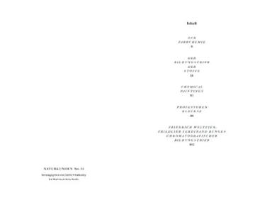 Der Bildungstrieb der Stoffe (Naturkunden) - 4