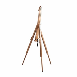 DESIGN DELIGHTS TRAGBARE Feld STAFFELEI Magnus aus geöltem Buchenholz Feldstaffelei für Keilrahmen bis 100cm - 1