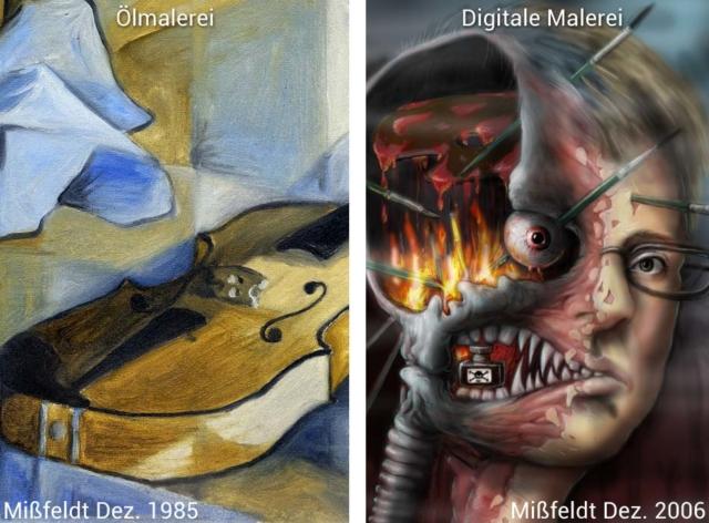 Digitale Malerei: Pro & Contra