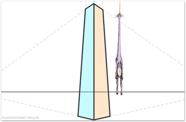 Dreipunktperspektive zeichnen