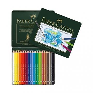 Faber-Castell 117524 - Aquarellstifte ABLRECHT DÜRER, 24er Metalletui -