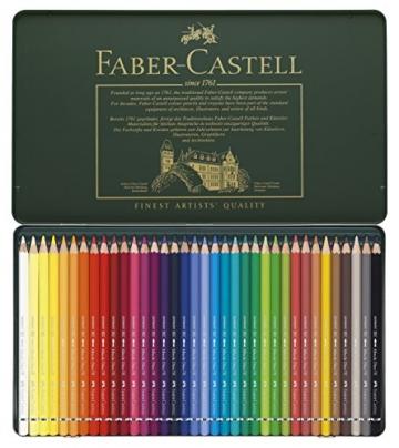 Faber-Castell 117536 - Aquarellstifte Albrecht Dürer, 36er Metalletui -
