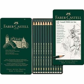 Faber-Castell 119065 - Bleistift Castell 9000, 12er Art Set - 1
