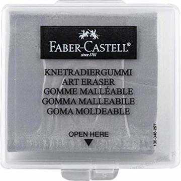 Faber-Castell 127220 - Knetradiergummi Art Eraser, grau - 1