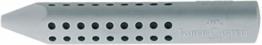 Faber-Castell 187100 - Dreieckradierer Grip 2001, grau - 1