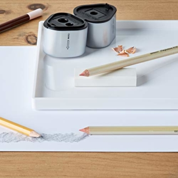 Faber-Castell 188121 - Radierer 7081 N PVC-Free, Kunststoff, weiß - 5