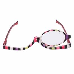 Fogun Lesebrillen,Damen Schminkbrille - Make up Brille,+1,5 +2,0 +2,5, 3,0,+3,5,+4,0 (2.5) - 1