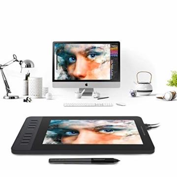 GAOMON PD1161 11.6 Inch Stift-Bildschirm mit 8 Schnelltasten und 8192 stufigem Batterie-freiem Stylus - 7