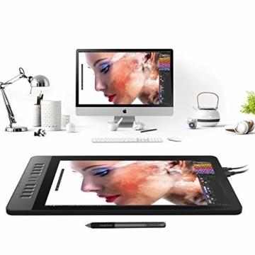 GAOMON PD1561 Stift-Display 15,6 Zoll IPS Monitor mit 10 Schnelltasten und 8192 Druckstufen batterielosem Stift - 7