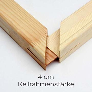 Generisch Keilrahmen Bausatz 4 cm Holzleisten Set selbst zusammenbauen ohne Leinwand Verschiedene Größen bestellbar (Leisten 4cm, 40x50) - 1