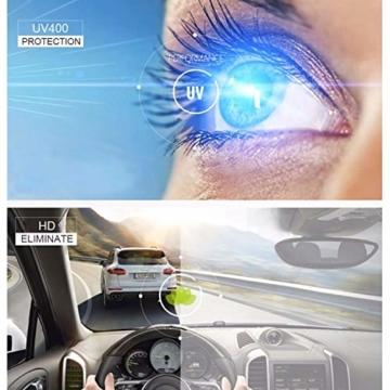 GIFIORE Runde Blaulichtfilter Brille Damen, Klassische Runde Computerbrillen,ohne Sehstärke, Blockieren Blaue Licht von PC, TV und Handy - 4