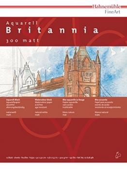 HAHNEMšHLE BRITANNIA MATT 24 X 32 CM -
