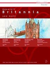 Hahnemühle Aquarellkarton Britannia, matt, 300 g/m², 30 x 40 cm, 12 Blatt - 5