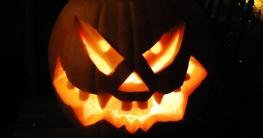 Halloween Kürbis-Gesicht